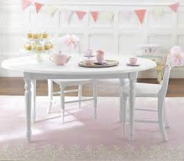 pottery barn table and chairs for s room