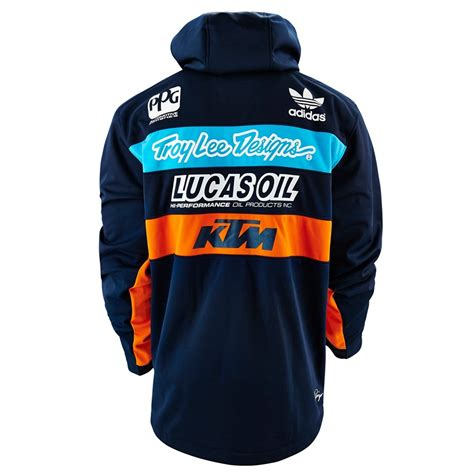 troy designs ktm team jacket navy available at