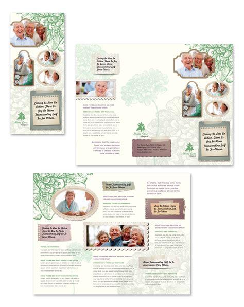 Home Care Tri Fold Brochure Template