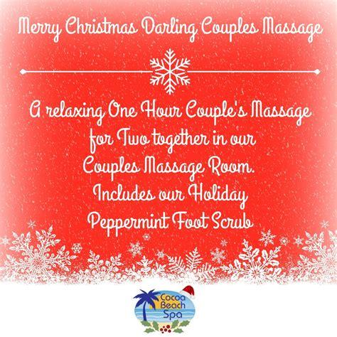 merry christmas darling couples massage spa services cocoa beach spa cocoa beach fl
