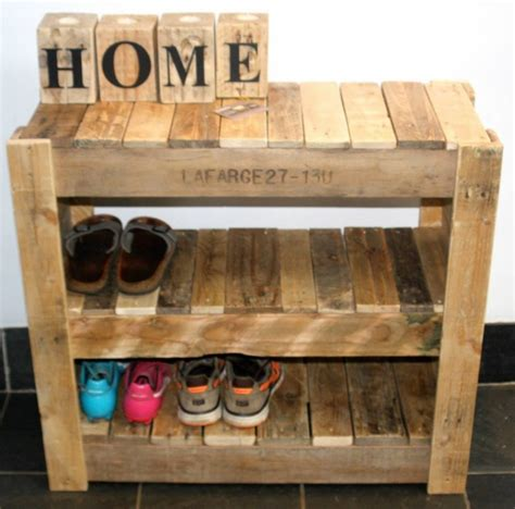 wooden pallet shoe rack ideas recycled pallet shoe rack pallet ideas recycled
