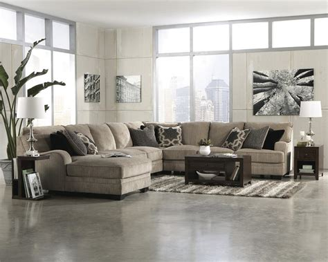 ashley furniture katisha sectional katisha platinum cuddler sectional by ashley furniture