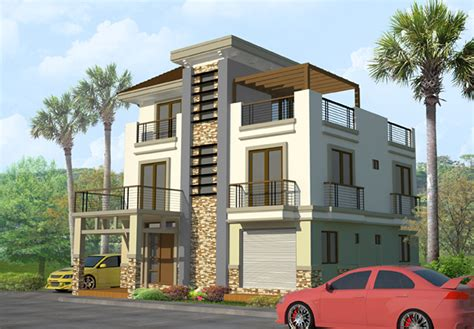 three story house modern house quebec modern house