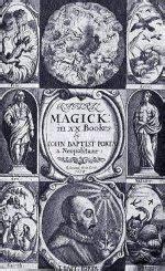 giambattista della porta quot baptist porta quot magick title page