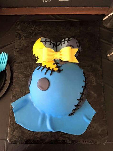 Nightmare Before Baby Shower Cake by Sally Nightmare Before Cake Nightmare Before