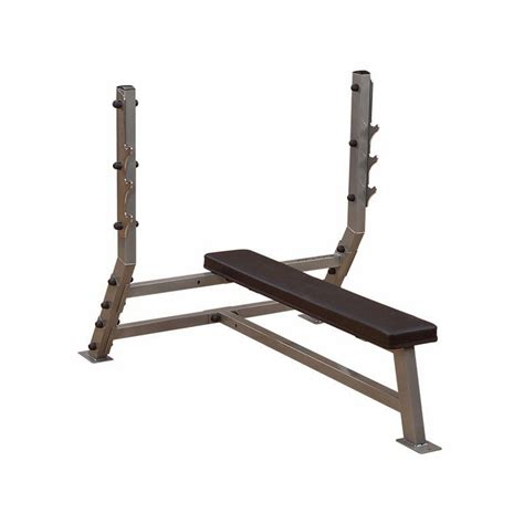 body solid flat bench body solid sfb349g pro club flat olympic bench