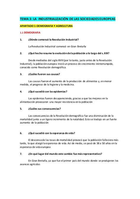 preguntas de historia de mexico con opcion multiple preguntas la revoluci 243 n industrial 4 eso
