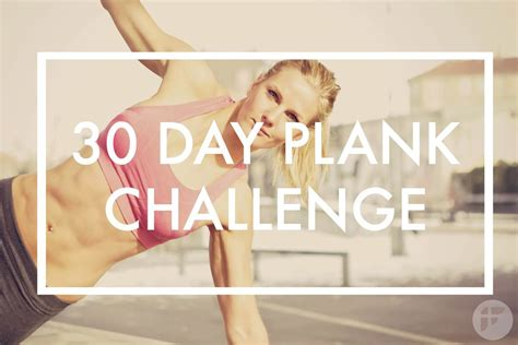 day plank challenge build core strength   days