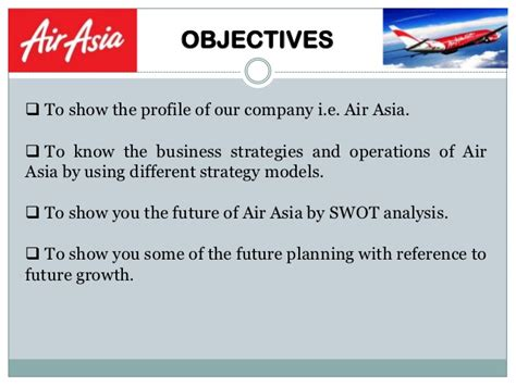 airasia vision and mission air asia case study on growth diversification and low
