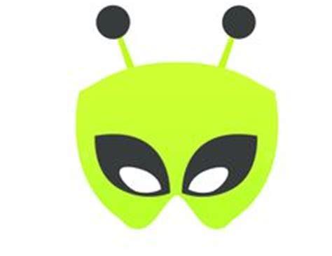 printable alien mask alien dress up on pinterest
