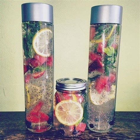 Chia Seeds Detox Water by Diy Make Your Own Detox Water For Weight Loss With Just