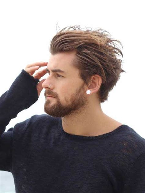 mens hairstyle for trendy hairstyles with top for guys mens hairstyles
