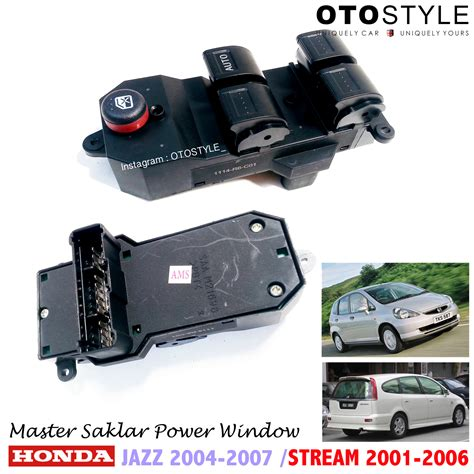 Anak Switch Power Window Honda Jazz jual master saklar jendela power window honda jazz premium otostyle
