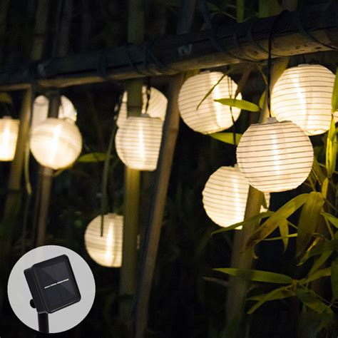 Decorative Solar Lights Outdoors Solar String Lights Lantern 10 20 Led Solar Outdoor Lighting Lights