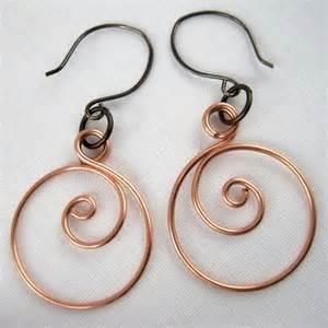 Jewelry Making Tutorials Earrings - zen spiral hoop earrings tutorial jewelry making journal