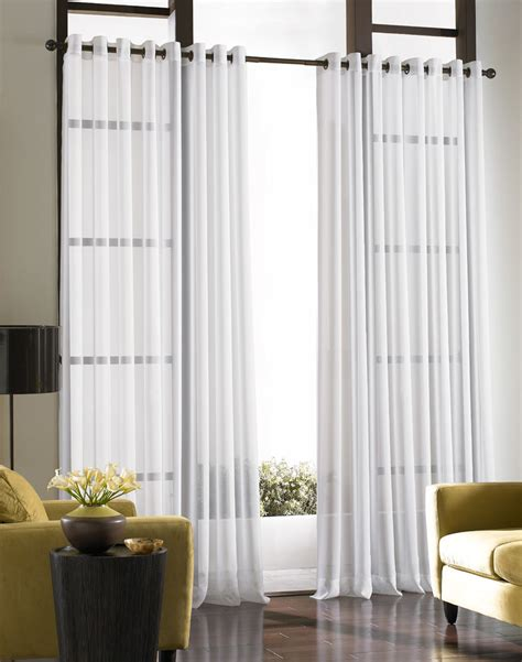 sheer curtains for windows photos soho voile lightweight sheer grommet curtain panel