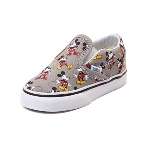 toddler mickey mouse sneakers shop for toddler disney x vans mickey slip on skate shoe