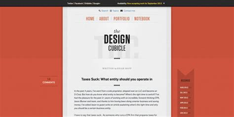 layout blog simple kiss a showcase of beautifully simple blog design noupe
