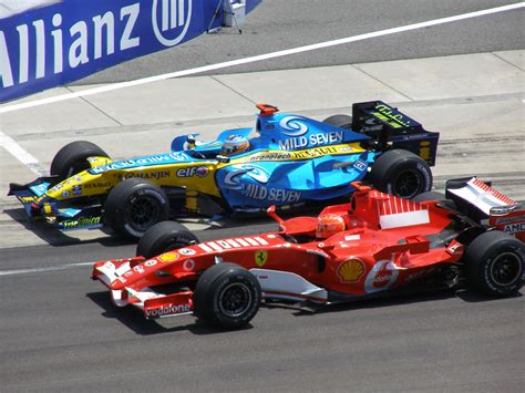 renault f1 alonso fernando alonso in the renault vs michael schumacher in