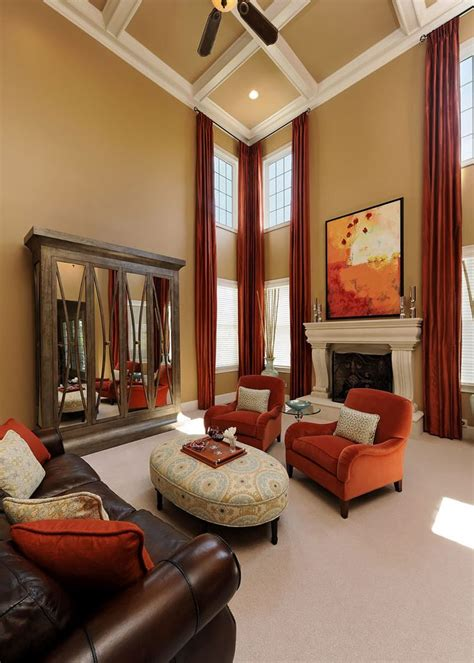 miami turquoise and orange bedroom transitional with 1000 ideas about burnt orange curtains on pinterest