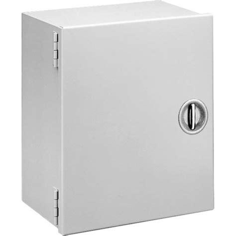 Recessed Door Knob Wall Protector by Hoffman Pentair A16n166lp Solid Single Door Recessed T