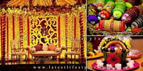 Stylish Homes Decor by Mehndi Decorations Ideas Stage Flowers Amp Hall