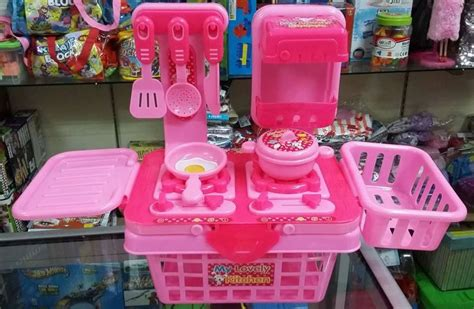 Keranjang Mainan Anak jual kitchen set keranjang mainan anak perempuan qq mega