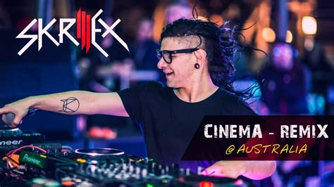 skrillex cinema remix skrillex cinema remix live in australia youtube