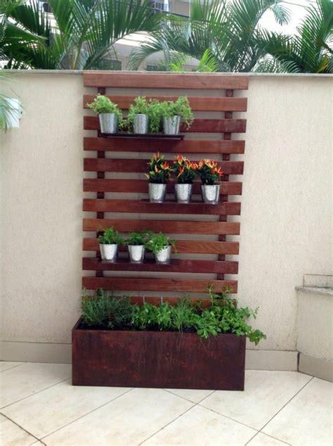 Wooden Vertical Garden Create A Vertical Garden For Your Home By Wooden Panels