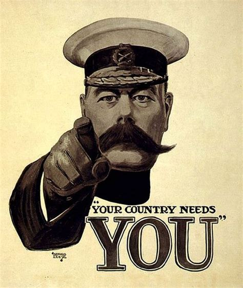 Image1 Kitchener by Your Country Needs You 100 Years Today