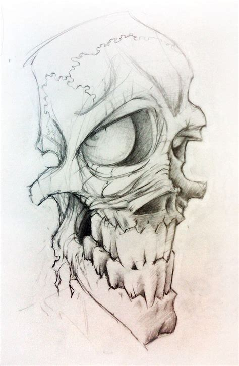 skull bones tattoo designs best 25 skull sketch ideas on