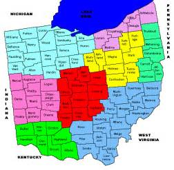 County Map Ohio by Gallery For Gt Ohio County Map With Cities