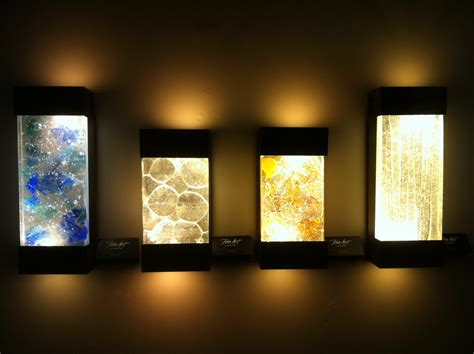 artistic lighting enhance the appearance of your room using light wall art
