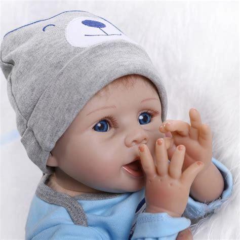 reborn doll 22 handmade lifelike baby boy silicone vinyl reborn