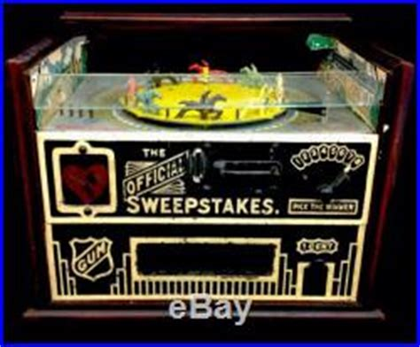 Horse Sweepstakes - pinball machines 187 official