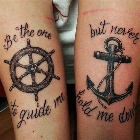 couple anchor tattoo 80 inspiring ideas to express your lovely in