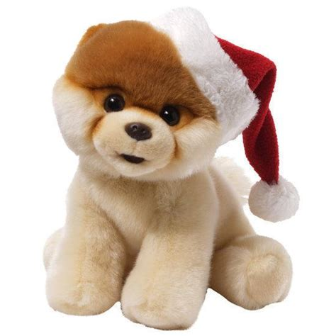 boo the dog christmas bol pluche knuffel hond boo the worlds cutest 23 cm