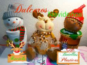 dulceros navideos mu 241 eco de nieve dulcero con botellas pet dulcero navide 241 o