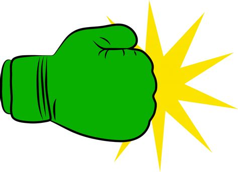 boxing gloves clipart green clipart boxing glove pencil and in color green