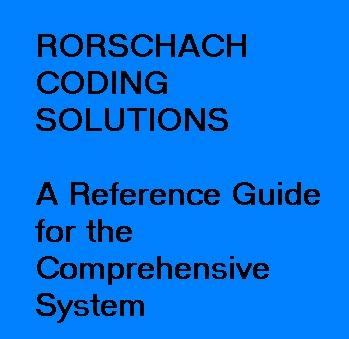 coding solutions rorschach coding solutions donald j viglione reviews