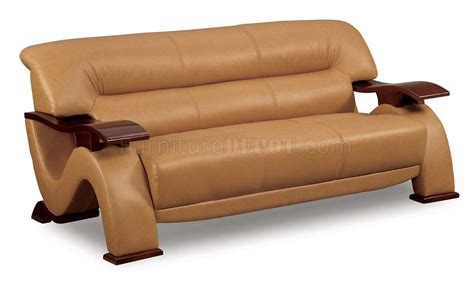 modern loveseat sofa brown leather modern sofa loveseat set with mahogany arms