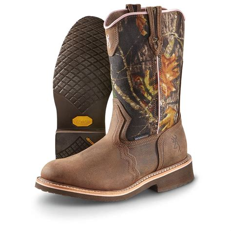 browning boots s browning waterproof fancy stitch wellington boots