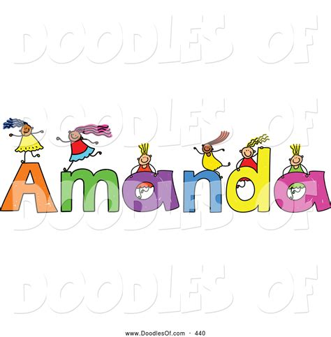 doodle name angela royalty free stock doodle designs of names