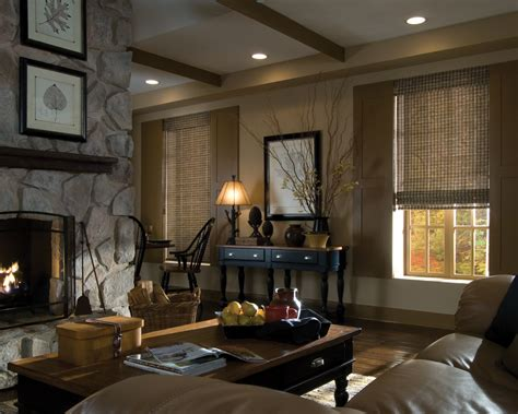 rustic accents home decor window treatments bring richness and warmth into your home