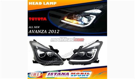 Jual Lu Projector Avanza l all new avanza xenia veloz projector black yz