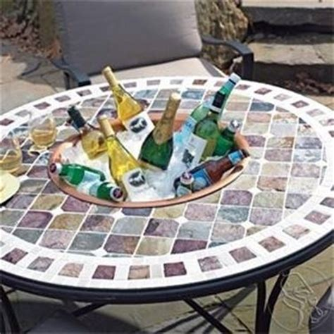 tavolo mosaico fai da te tavoli da giardino a mosaico tavoli da giardino