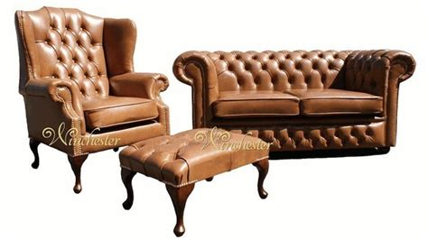 chesterfield 2 seater settee mallory wing chair