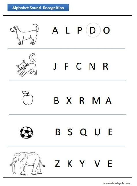 worksheets alphabet recognition 25 best alphabet worksheets images on pinterest