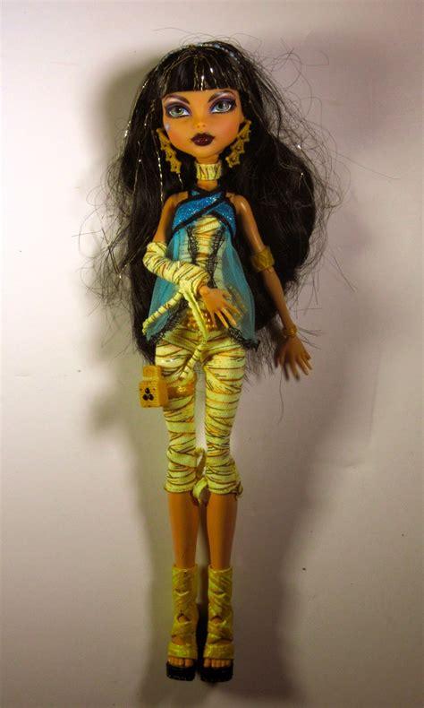 Figure High Original Cleo De Nile high cleo de nile mummy doll wave original issue mattel ebay