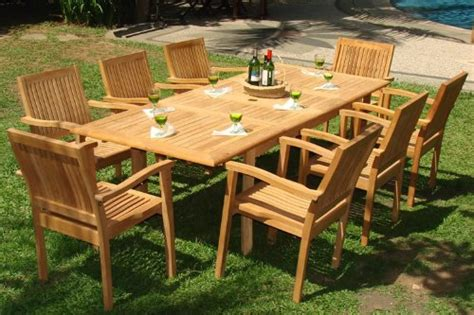 Teak Furniture For Garden Teak Outdoor Furniture To Accentuate Your Deck Or Garden
